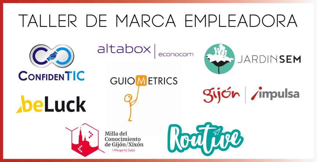 Taller de Marca Empleadora de las Milla del Conocimiento de Gijón